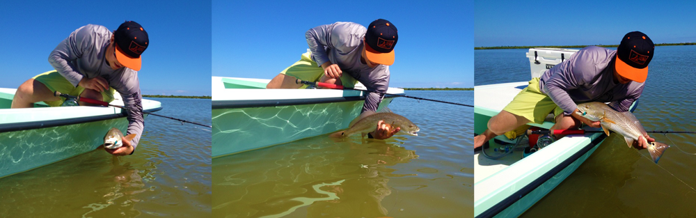 SkinnySkiff Redfish TimeLine Redington Gear